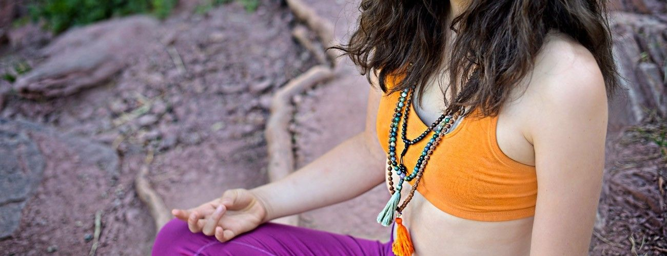 mantra meditation mala bead