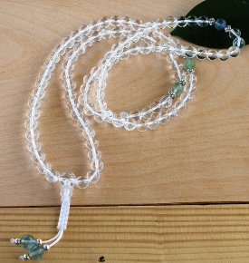 Crystal Mala Prayer Beads