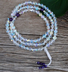 light crystal mala