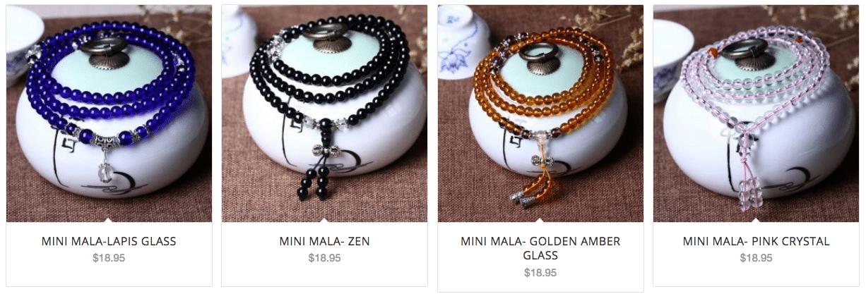 mini mala beads