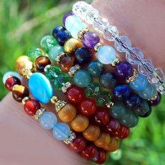 mala bracelets stone