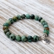 african turquoise om bracelet