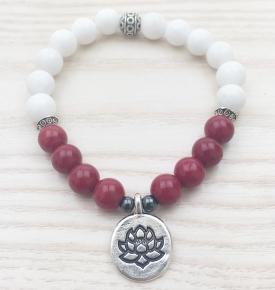 I Am love mala bracelet