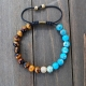 8mm Spiritual Bracelet Turquoise
