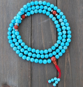 8mm Turquoise and Jasper