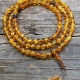 8mm Amber Mala Round Prayer Beads