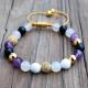 Amethyst Pave Mala Bracelets