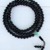 Black Onyx & Malachite Mala Beads