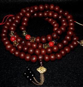 Bodhi Seed and Tibetan Coral