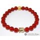 Bracelet Mala Carnelian with Buddha