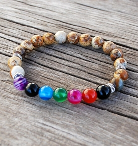Bracelet Mala-Chakra