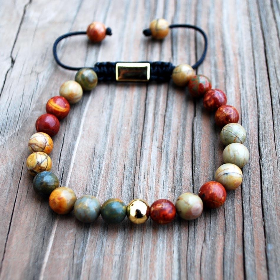 Bracelet Rainbow Jasper