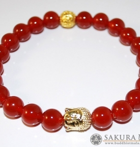 Carnelian with Buddha