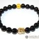 Bracelet Mala-Onyx with Buddha