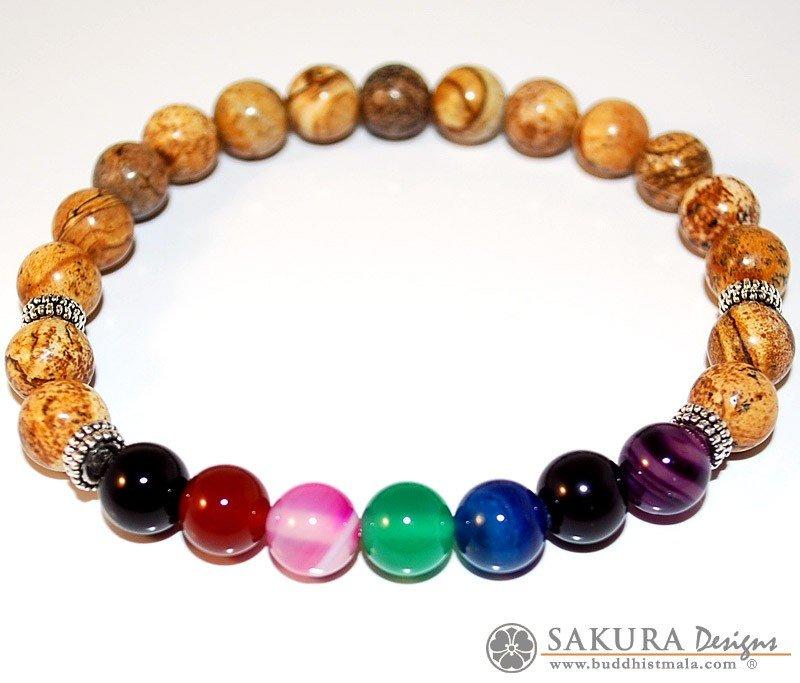 Bracelet Mala Jade