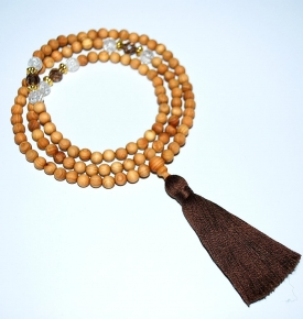 Cedar Mala Beads