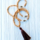 Cedar Mala Necklace