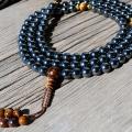 hematite mala beads