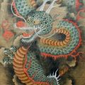 old chinese dragon