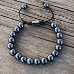 Men's Hematite Bracelet