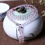 Mini Mala- Pink Crystal