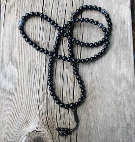 Onyx & Obsidian Mala