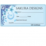 Gift Certificate (Any Amount)