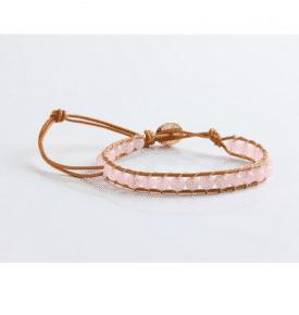 Boho Bracelet Rose Quartz
