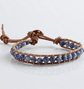 Boho Bracelet Sodalite 6mm