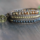 Boho Bracelet Tiger's Eye 4mm