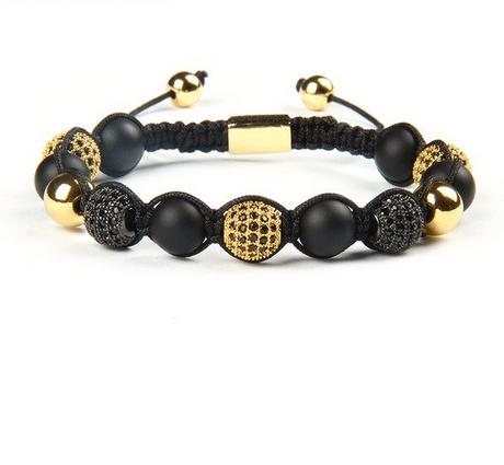 Mala Bracelet Onyx CZ