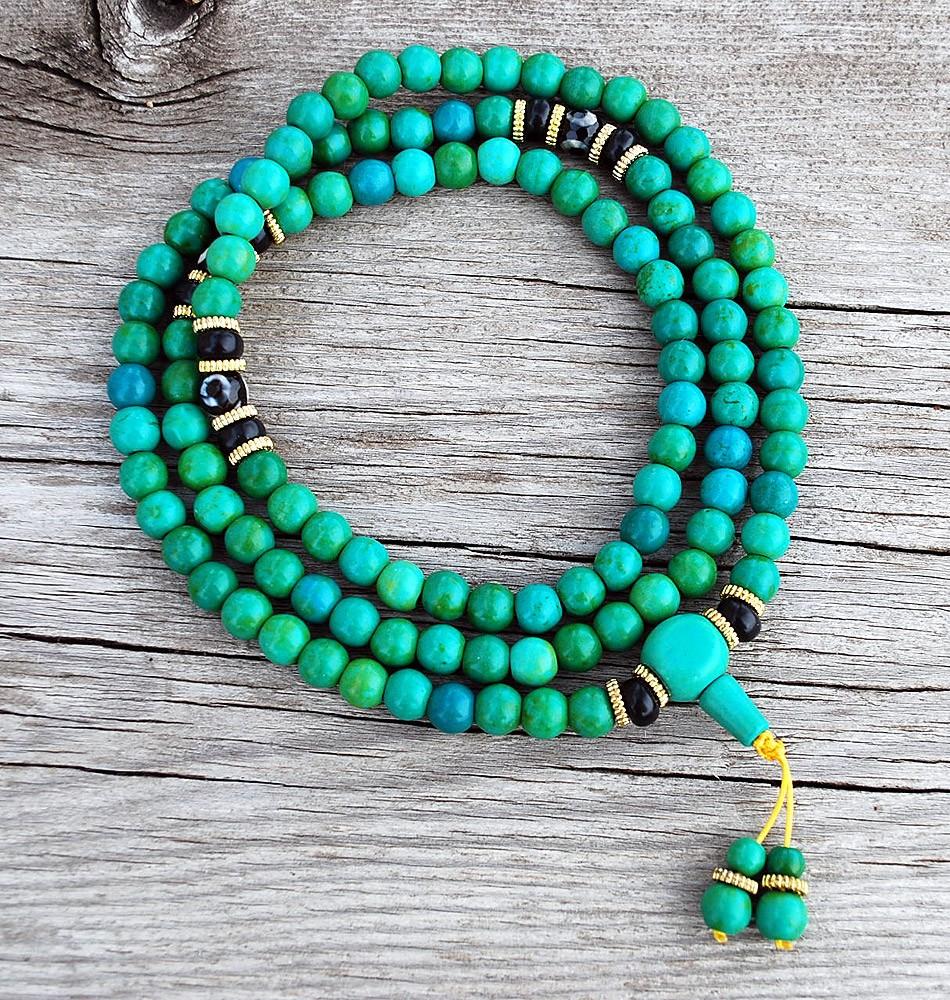 Tibetan Turquoise and Dzi