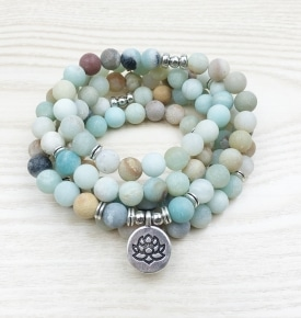 Amazonite Stretch Mala