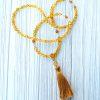 amber mala necklace