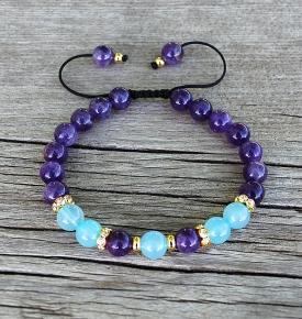 aquarius mala bracelet