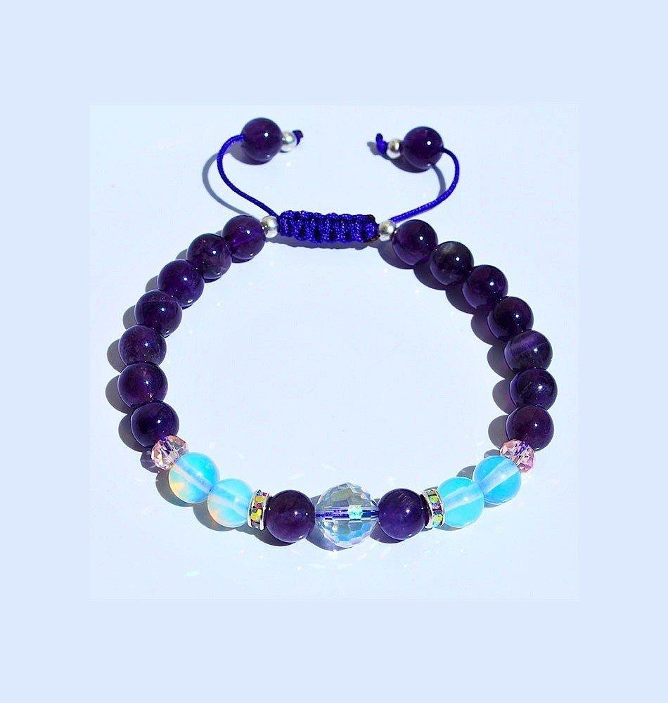Aquarius Mala Bracelet- February