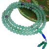 aventurine mala beads