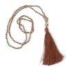 Boho Buddha Necklace- Gold