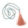 Boho Buddha Necklace- Turquoise