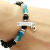 Bracelet Mala- Blue Om