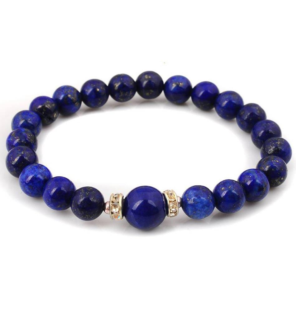 Bracelet Mala- Lapis Lazuli