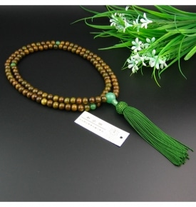 Zen Buddhist Verawood Mala