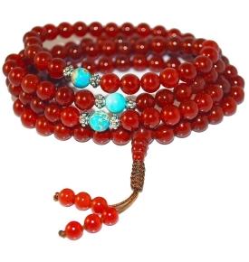 Carnelian Mala Prayer Beads