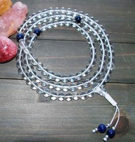 crystal healing mala