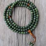 dark jade mala