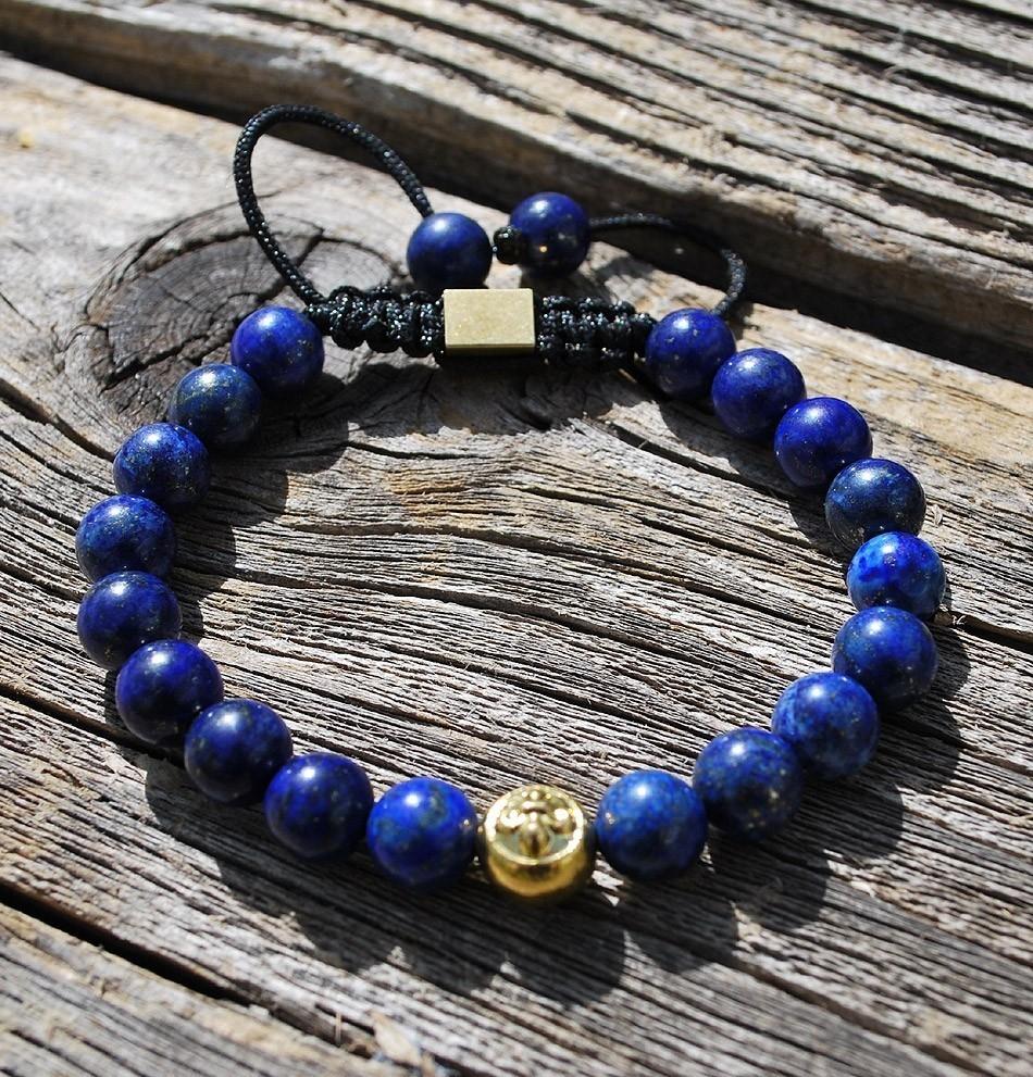 Tibetan Healing Bracelet-Lapis