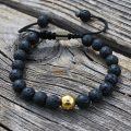 Tibetan Healing Bracelet-Lava