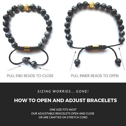 how to open mala bracelet