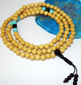 Jackfruit Wood Mala Beads