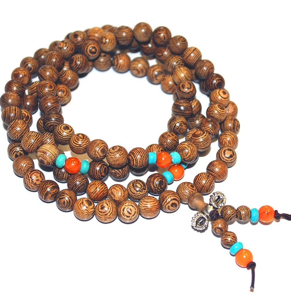 Jichimu Mala Beads with Dorje